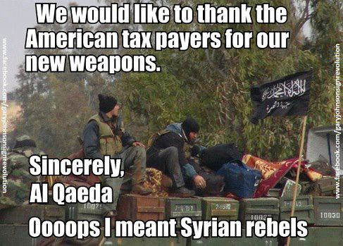 usa & rebel in syria