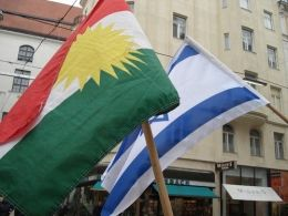 israelkurdistaniraqflag