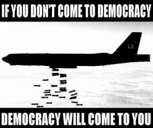democracy,usa way!