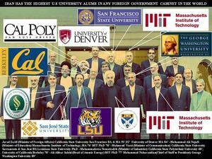 iran,rohani & his US graduate ministers