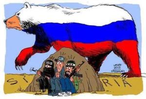 russian bear,isis...