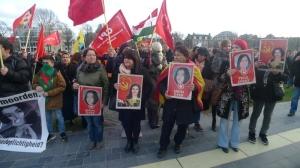 kurds in eroup demonstration