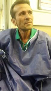 jafar-azimzadeh lost weight on hunger strike