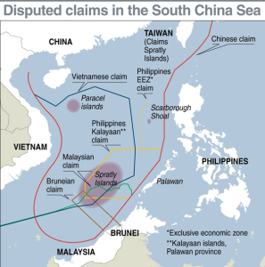 china and the disputed island