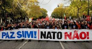 yes to peace, no to nato,