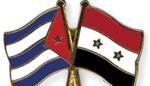 cuba & syrian flags