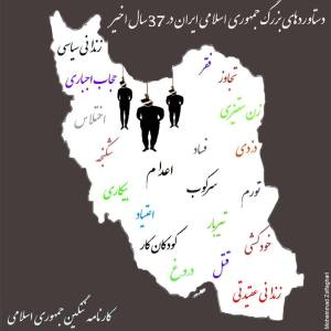 iran, islamic regime's records