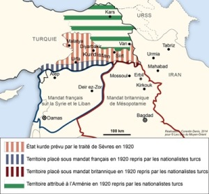 map-of-sevres-treaty-conference